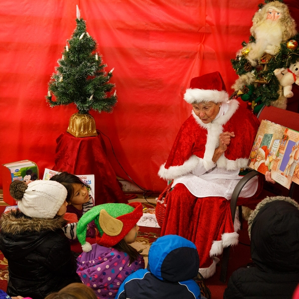 Barb Masho finds joy and purpose in sharing the magic of Christmas through her role as Mrs. Claus.