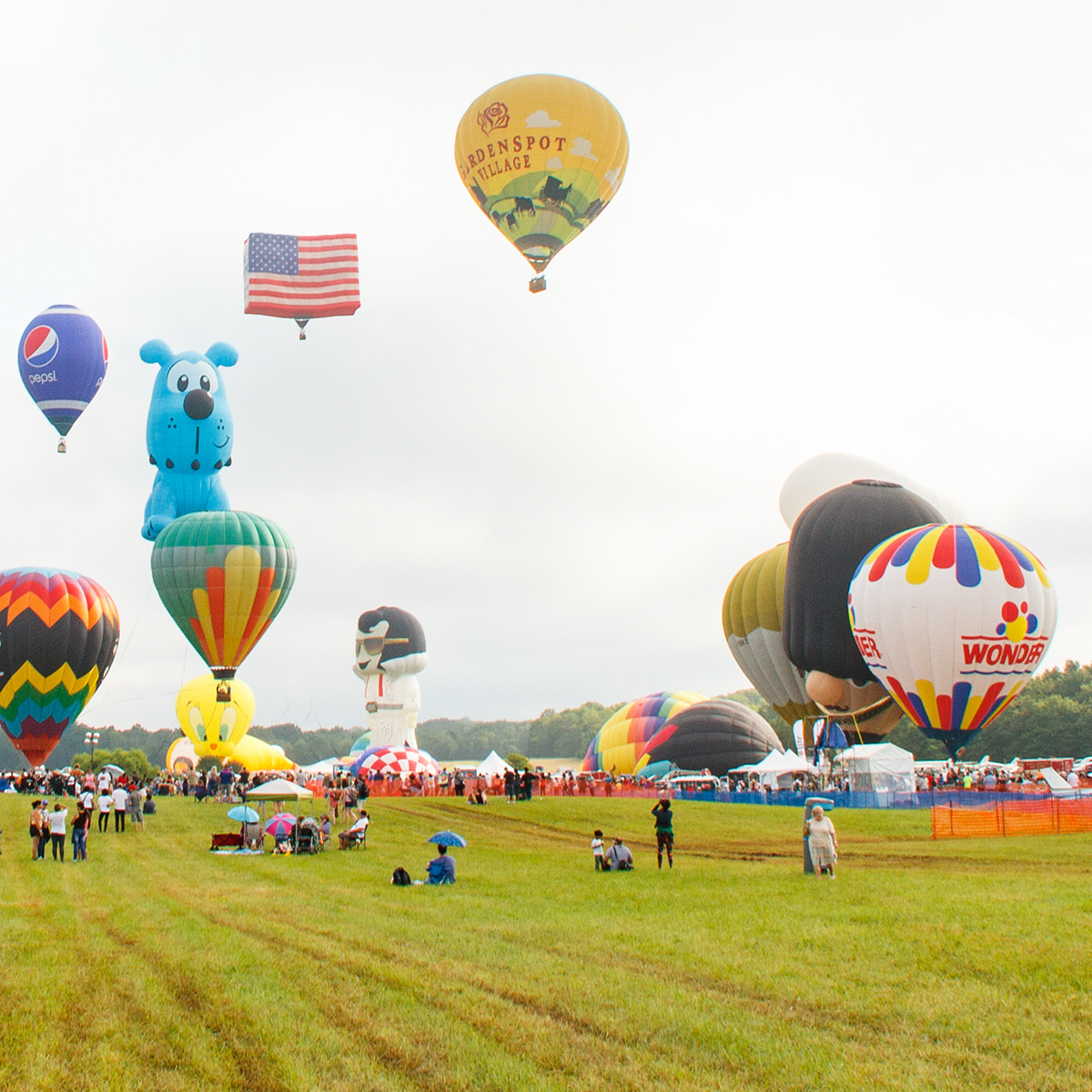 Garden Spot Village Hot Air Balloon