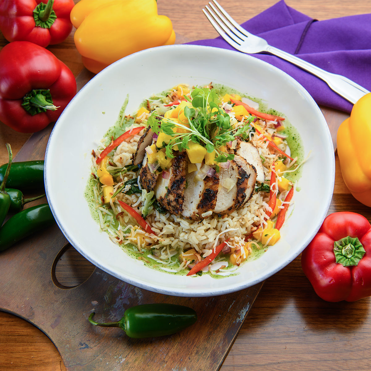 How To Prepare Island Jerk Chicken Bowl