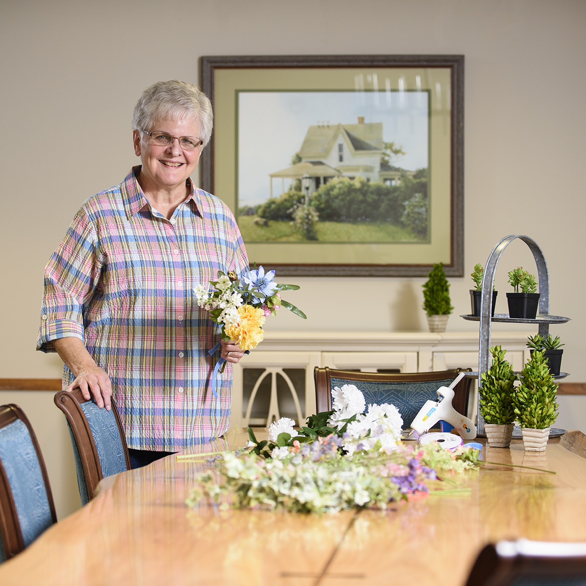 Gladys Kolb appreciates the many opportunities she has to live with purpose at Garden Spot Village, especially the opportunities she has to serve other people.