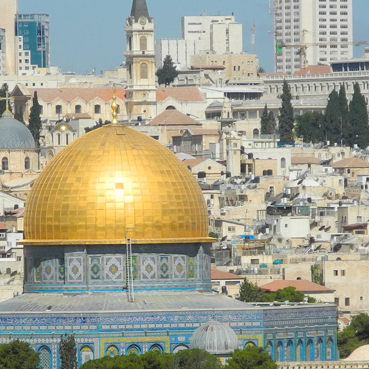 Temple Mount in Jerusalem.