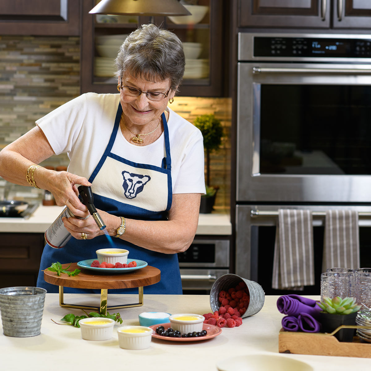 Fay Strickler loves to cook for her friends at Garden Spot Village