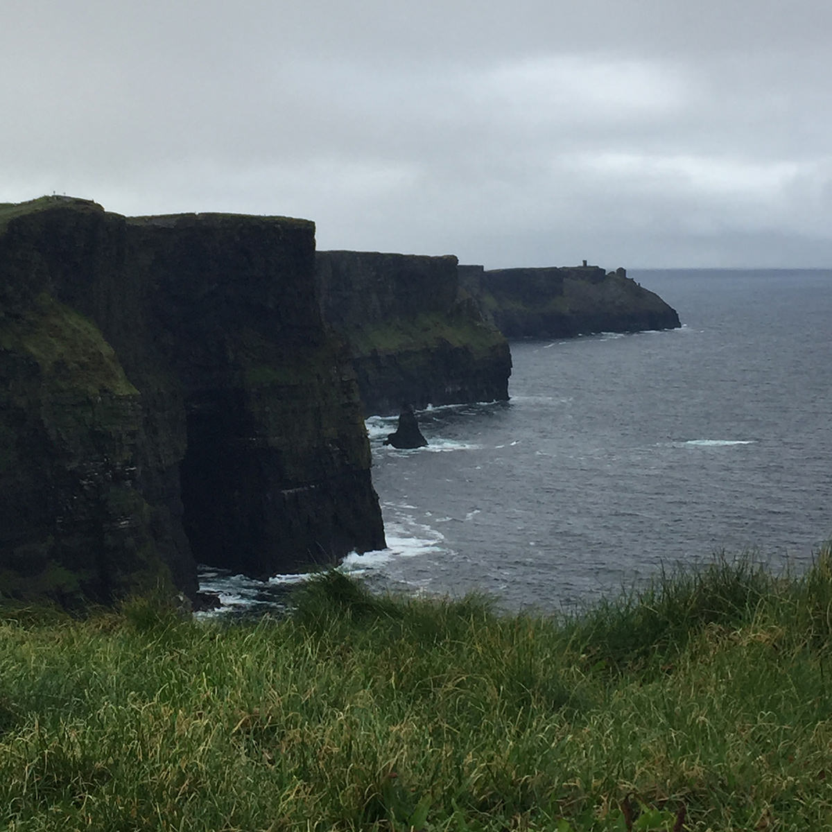 The Cliffs of Moher offered a breathtaking view.