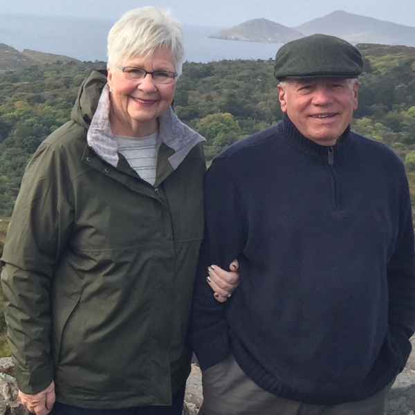 Dick and Kathy Miller traveled to Ireland in September 2018.